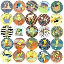 THE SIMPSONS Tazos Pogs Magic Box Complete set 115 + 24 Toys Collection SPECIALS
