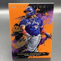 Vladimir Guerrero Jr. 15/50 2021 Orange Topps Inception #58 Toronto Blue Jays