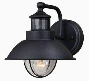 """Vaxcel  One Light Motion Sensor Outdoor Wall sconces - Harwich Dualux - 8.25"""""""