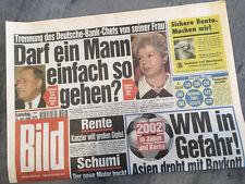 Bildzeitung vom 10.07.1999 * 18. 19. 20. Geburtstag Geschenk * Fußball WM
