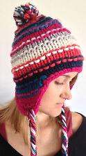 ROXY. Women's Knitted Ski or Snowboarding Hat Beenie. Pony Tails. One Size.
