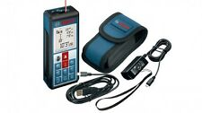 Bosch GLM100 C Laser Distance Meter Compatible with Android and iOS Devices