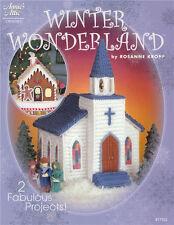 WINTER WONDERLAND Church House Crochet Pattern Book NEW