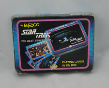 Star Trek Next Generation Playing Cards  In Tin New Never opened