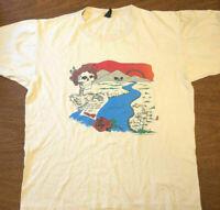 vintage Grateful Dead T-shirt Ripple 80s Band F460