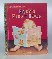 Classic 2007 Little Golden Book Baby's First Book Garth Williams