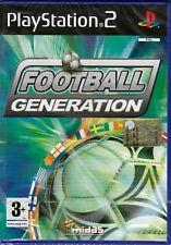 Ps2 PlayStation 2 **FOOTBALL GENERATION ** nuovo sigillato italiano pal