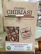 .Fagioli Borlotti Del Salento Cosimo Chiriasi conf. 500 gr
