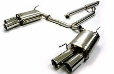 OBX Stainless Steel Catback Exhaust Fits 2004-2008 Acura TL TL-S Base Auto 6MT