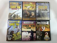 Waterfowl DVDs 6 Lot  Volume 4-9/Hunter Specialties Take'em Series Hunting