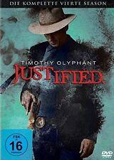 JUSTIFIED, Season 4 (Timothy Olyphant) 3 DVDs NEU+OVP
