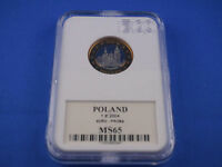 POLEN  Poland  1 Euro 2004 PROBA  -- MS65    (K1)