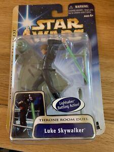 Star Wars Saga Collection Luke Skywalker Throne Room Duel Action Figure