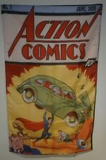 Action Comic 1 Superman Huge 3x5 Banner Poster Store Sign Man Cave Tapestry