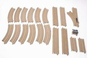 Thomas Trackmaster Biege Brown Track Packs - Straights / Curves Switches Points