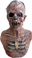 HALLOWEEN ADULT ZOMBIE GROUND BREAKER SKULL  MASK PROP