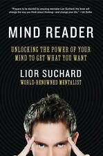 MIND READER Lior Suchard Mentalist Unlock Power of Your Mind book body language