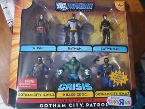 NEW DC UNIVERSE INFINITE HEROES GOTHAM CITY PATROL FIGURES BATMAN HUSH! Sealed