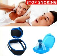 Stop Snoring Mouthpiece Bruxism Grind Guard & Anti Snore Cpap Chin Strap Belt