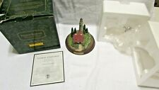 """Collectible Thomas Kinkade Lighted """"Clearing Storms"""" By Media Arts Group"""