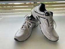 MENS FILA WHITE & NAVY TRAINERS/ RUNNING SHOES UK12 US 13 EUR 47