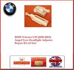 2x SET BMW E39 5-Series Angel Eye Headlight Headlamp Adjuster Mounting Bracket