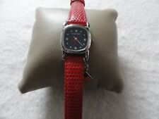 Ladies Nine West Quartz Watch with a Red Band