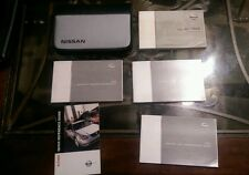 2003 Altima Owners Manual Set w/case