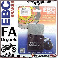 1000 cc 1989-1992 FA018V EBC COPPIA PASTIGLIE FRENO POSTERIORE BMW K 100 RS