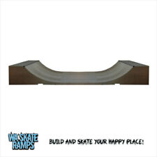 Standard Outdoor 2 ft high x 4 ft wide Mini Ramp / Half Pipe Skate Ramp