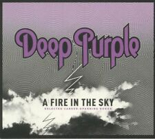 DEEP PURPLE - A FIRE IN THE SKY : SELECTED CAREER SPANNING SONGS CD *NEW*