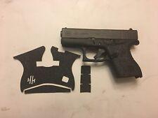 HANDLEITGRIPS Tactical Textured Rubber Gun Grip Enhancement for Glock 43 9mm
