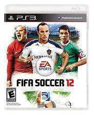 Fifa Soccer 12 PS3 (Sony Playstation 3, 2012 )