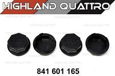 Audi ur quattro coupe 80/ 90/ 100/ 200 genuine wheel centre cap x4 841601165