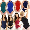 Lady Girl Sleeveless Dance Leotard Gymnastics Ballet Dancewear Unitards Bodysuit