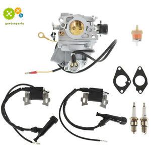 Carburetor Ignition Coil for Honda GX610 GX620 18HP 20HP V-Twin 16100-ZJ0-871
