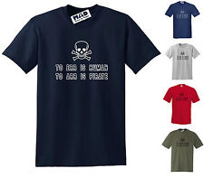 FUNNY PIRATE T-SHIRT: TO ERR IS HUMAN, TO ARR IS PIRATE! Small to 5XL