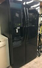 Kenmore 51839 Side By Side Black Refrigerator With Grab n Go Door