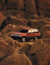 Big 1993 JEEP GRAND CHEROKEE FOLLETO CON / color Gráficas: LIMITED, Laredo, 4wd,