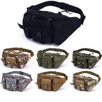 Tactical Fanny Pack Waist Bag Military Hip Belt Outdoor Bags Supplies