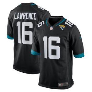 Youth Jacksonville Jaguars Trevor Lawrence #16 Nike Black 2021 NFL Draft Jersey