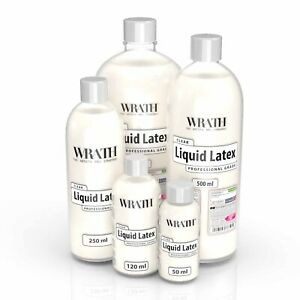 WRATH Liquid Latex (Clear) - Professional Grade Special FX Make-up for Skin