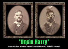 "5"" x 7"" Uncle Harry Changing Portrait Halloween Horror Haunted Memories"