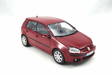 VOLKSWAGEN GOLF V ROUGE 1/18 WELLY