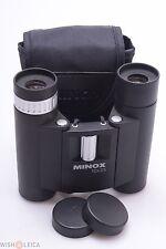 MINOX BD 10X25 R *MINT* BINOCULARS W/ CASE, STRAP & CAPS