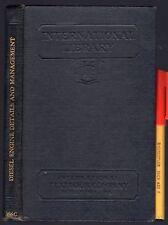 Vintage DIESEL ENGINE DETAILS and MANAGEMENT 193pg + Fold-Out