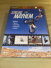 DVD Maximum: Xtreme Mayhem DVD 4-Disc Set Extreme Sports Movies