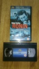 Ronin VHS Video. Very good condition.