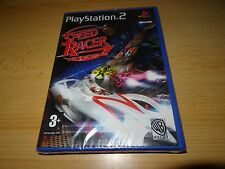 Speed Racer Sony Playstation 2 PS2 NEW SEALED uk pal version