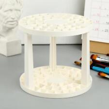 Art Supplies Using Paint Brush Penholder White Round Plastic Stand Pro AU Dswy